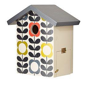 Flower Stem Bird House Multi