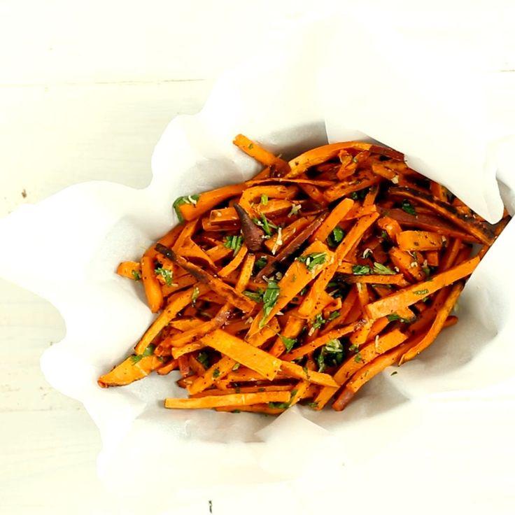 Palitos de Batata Doce ~ Receita | Tastemade