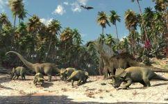 fototapet dinozauri