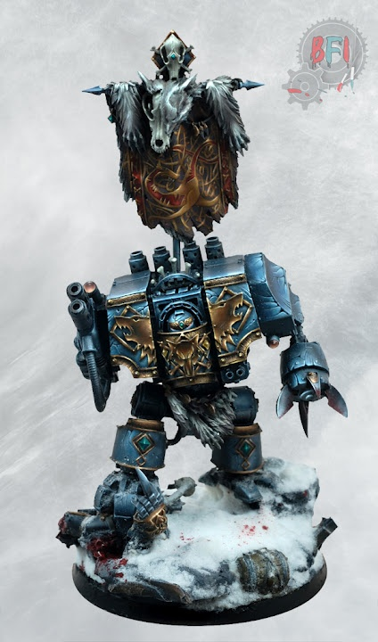 Space Wolves Dreadnought Warhammer 40k