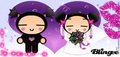 pucca and garu wedding..