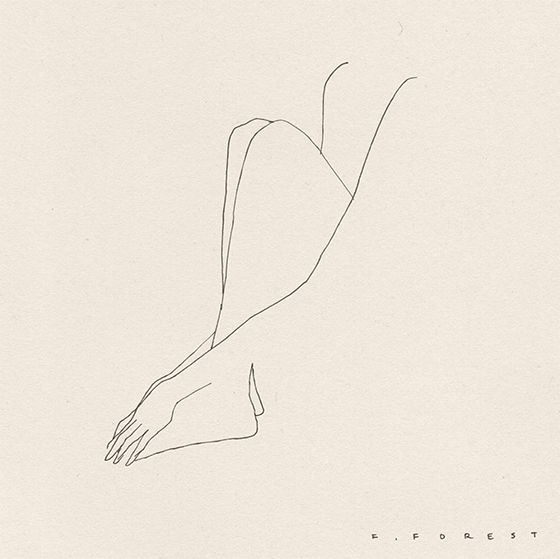 Frédéric Forest's barely there line drawings are completely seductive in the most minimal of ways. The silhouettes remind me of...