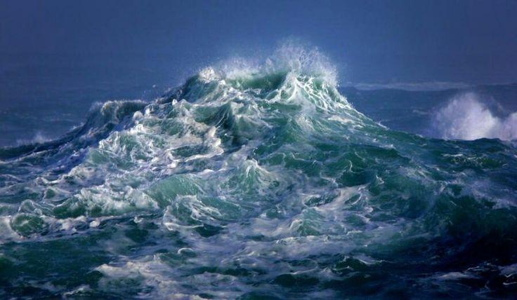 Our souls are tumultuous seas.