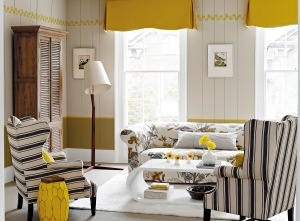 Living room: Living Rooms Decor, Rooms Decor Ideas, Living Rooms Design, Window Shades, Formal Living Rooms, Interiors Design, Yellow Accent, Living Rooms Furniture, Color Living Rooms