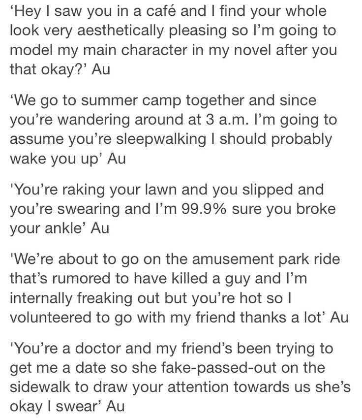writing prompts inspiration text post tumblr
