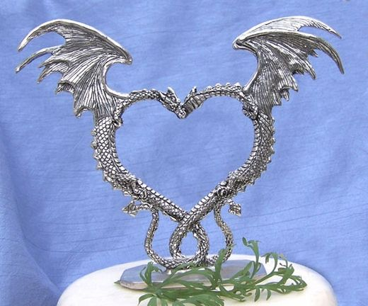 Dragon Heart Cake Topper: We agree on this one!