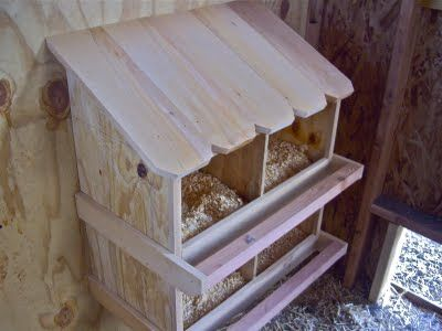 Nesting Boxes I love these!