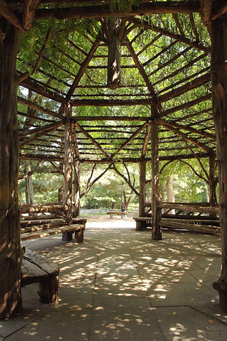This is where I got married. The Cop Cot, Central Park. It wasn't so green in December but still as beautiful