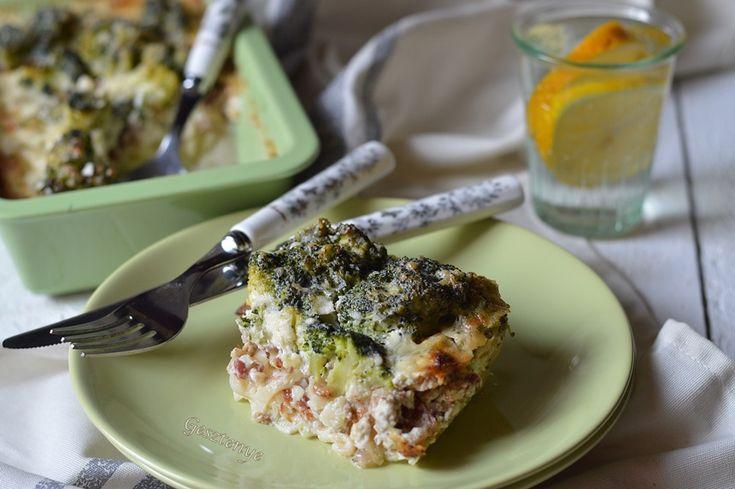 Gesztenye receptjei: Brokkolis rakott tészta