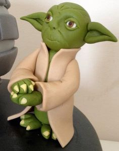 Fimo Ideas Clay Fondant Figures Dolls Starwars Cake Toppers