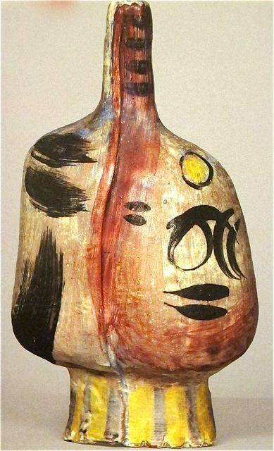 Modernist Italian Ceramics: Emilio Scanavino, 1952