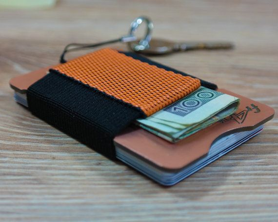 fr4™ Minimalist RFID Blocking Slim Front Pocket by fr4studio