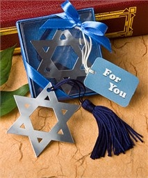 These are bookmark favors, but could easily be made into a banner to hang across the fireplace :)