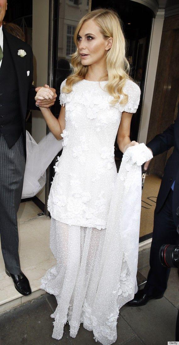 Chanel style wedding dress