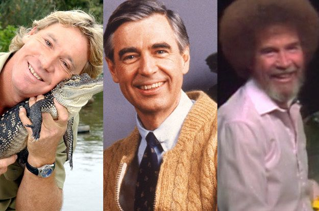Take This Wholesome Quiz To Find Out Which Wholesome Person You Are Steve Irwin Bob Ross Mr Rogers