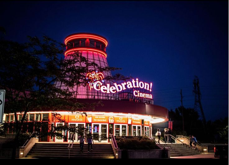 Views of Celebration! Cinema at Crossroads in Kalamazoo, MI!