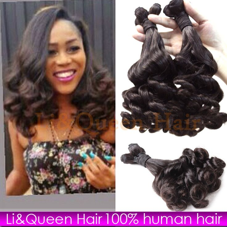 Aliexpress.com : Buy  Free Shipping 7A Unprocessed Brazilian Virgin Hair Bundles Aunty Funmi Bouncy Curly Brazilian Virgin Curly Weave Cheap 4pcs/lot from Reliable hair combs for weddings suppliers on Li&Queen  | Alibaba Group