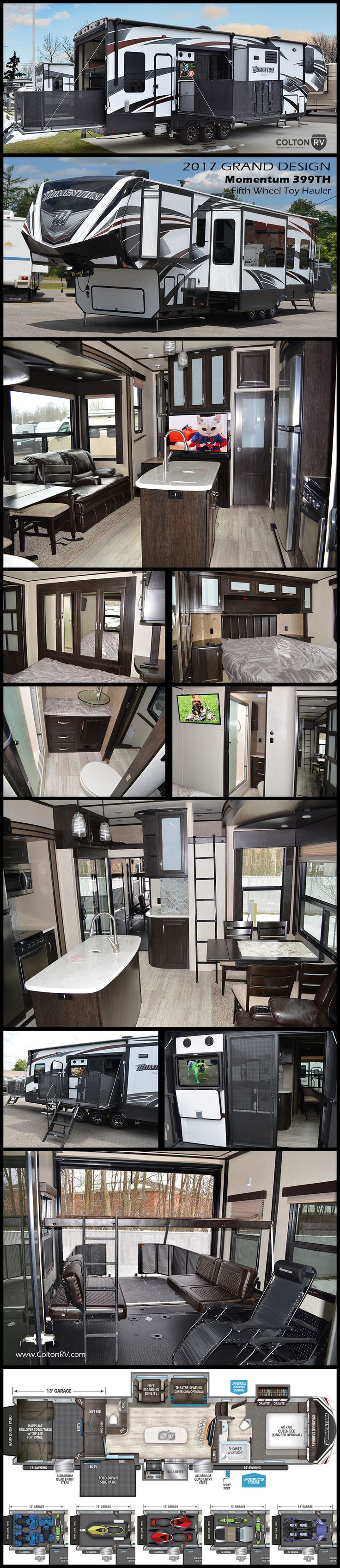5th wheel master bedroom   best Bikes images on Pinterest  Camp trailers Airstream and