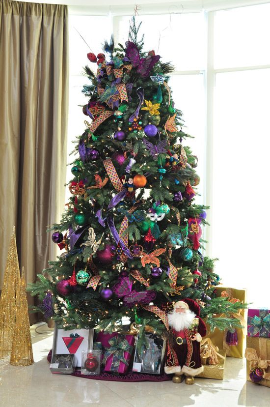 18 Best Jewel Toned Christmas Images On Pinterest