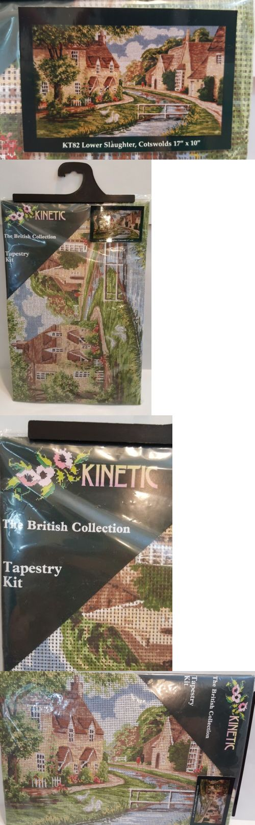 Needlepoint Kits 3109: Kinetic Tapestry Kit The British Collection Lower Slaughter Cotswolds Kt82 17X10 -> BUY IT NOW ONLY: $34.95 on eBay!