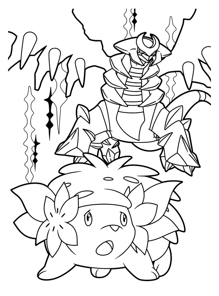 pokemon dimond coloring pages - photo#48