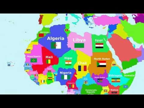 The Countries of the World Song - Africa