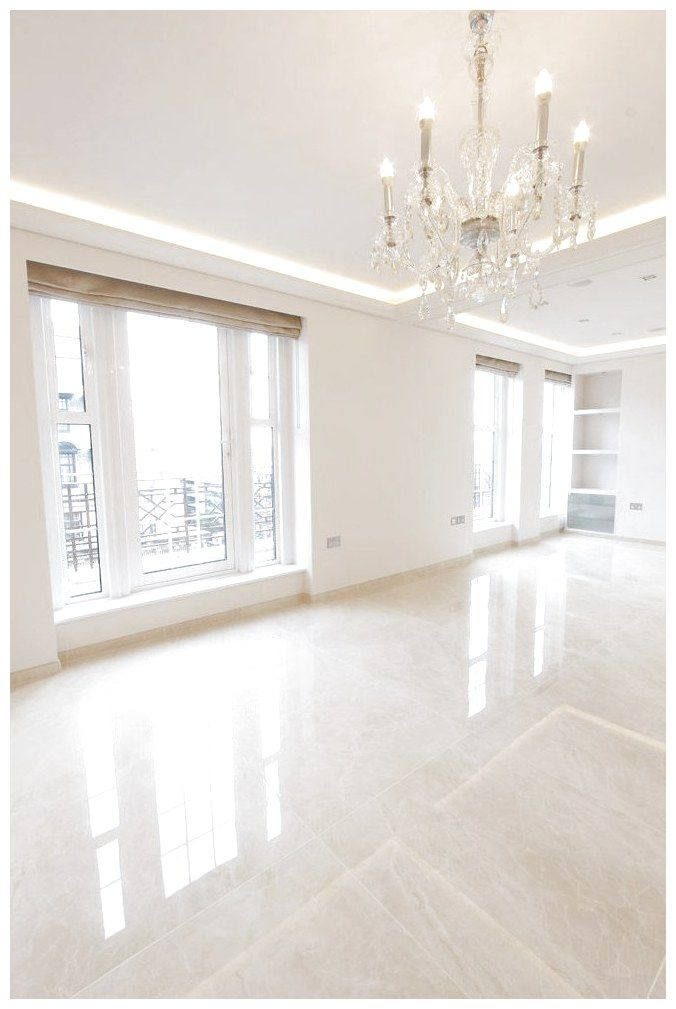 Elegant Penthouse Living Room With Glossy Floor Tiles With A Marble Effect Tiles From The Masterpiece Range Floor Design Living Room Tiles Floor Tile Design #tiles #design #living #room
