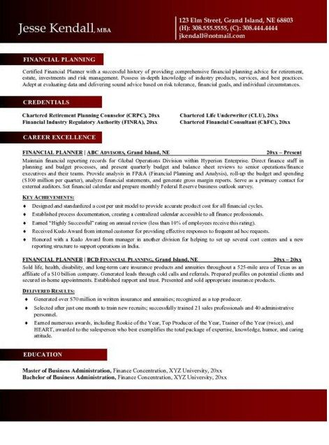 Financial Advisor Intern Resume - http://jobresumesample.com/2018/financial-advisor-intern-resume/