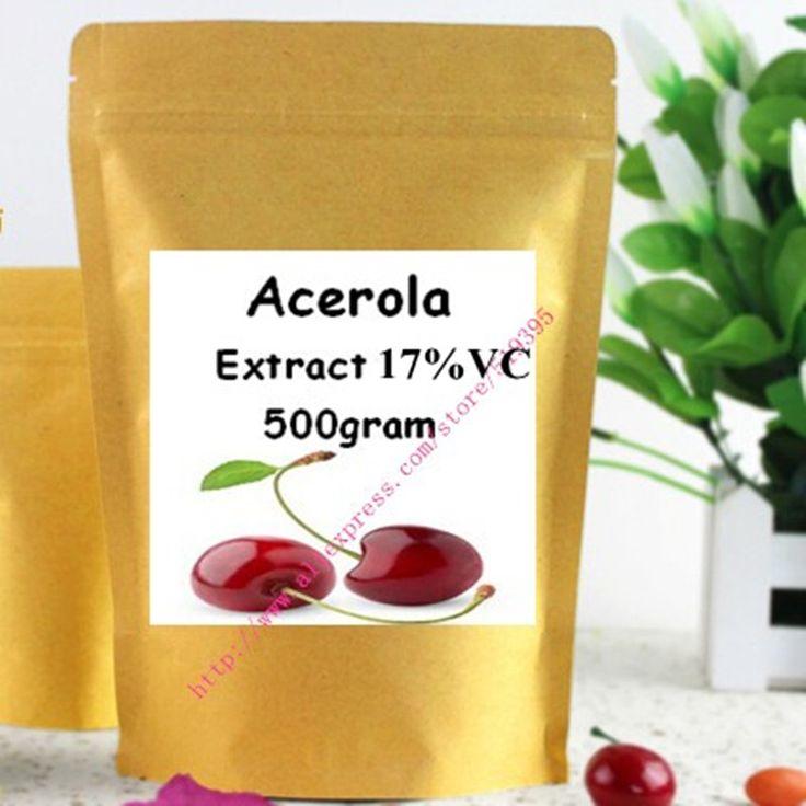 17.6oz (500g) Acerola Cherry Extract Powder - The Ultimate Vitamin C Health Food 17% Vitamin C