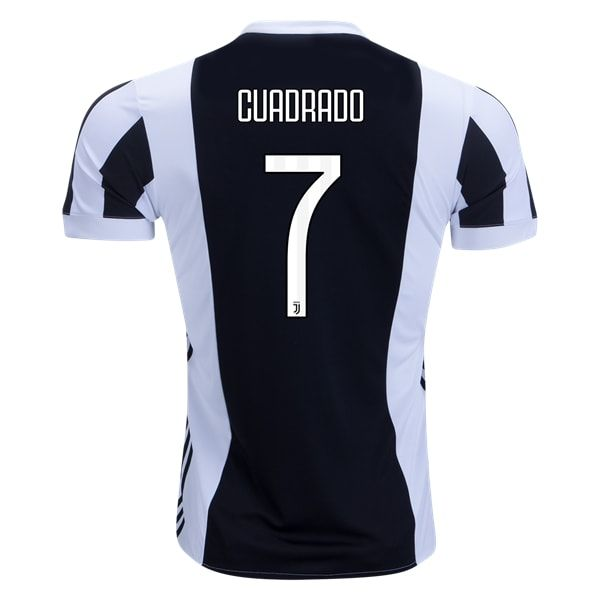 adidas Juan Cuadrado Juventus Home Jersey 17/18