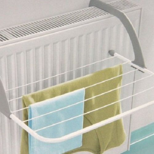 Radiator Clothes Airer Arms Dryer Stand Attachment Heater Hanging Indoor Laundry