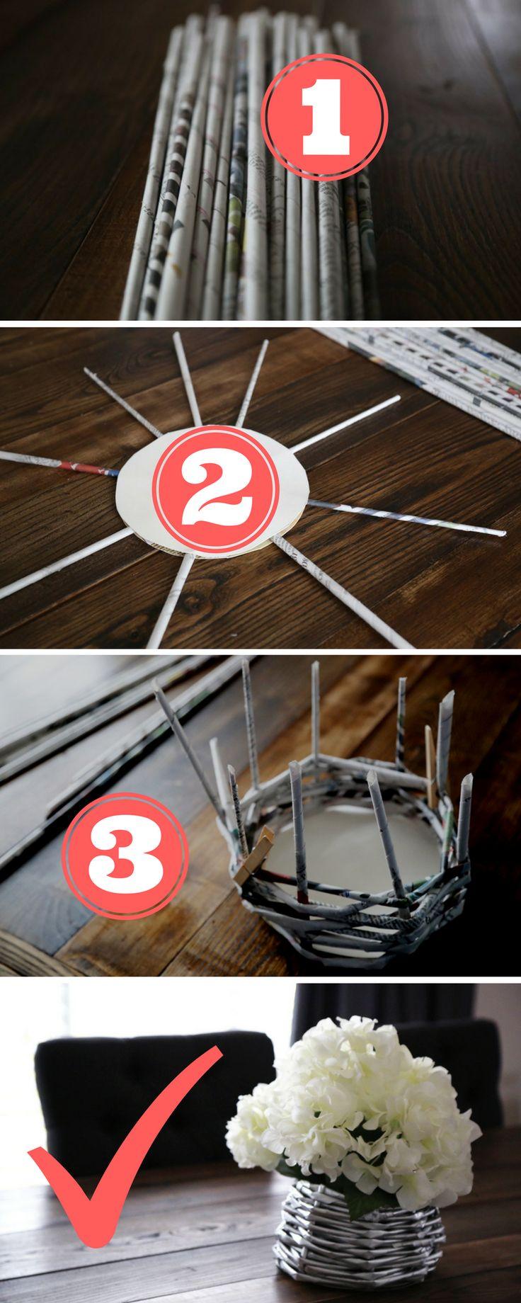 best 25+ newspaper basket ideas on pinterest | paper basket