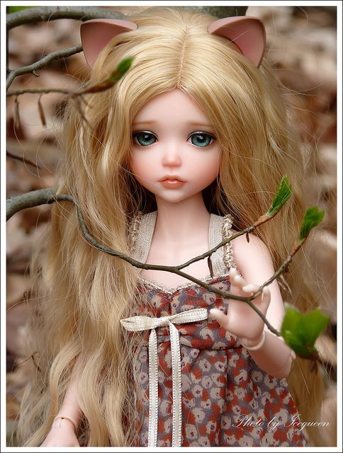 My friend Jessica said that this doll reminds her of ME!!! I thought it was funny!!!
