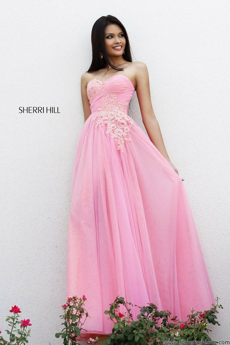 69 best Sherri Hill images on Pinterest | Formal prom dresses, Party ...