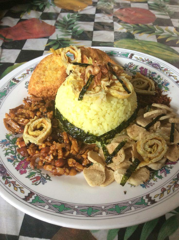 Yellow rice homemade by mom
