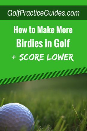 Tired of settling for par in golf? Learn the tips that will help you score more birdies and lower golf scores overall. These tips helped me reach scratch golf. Click to read or hit save to share!