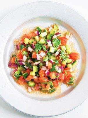 ELLE a table】カチュンバルレシピ エル・オンライン きゅうり トマト サラダ