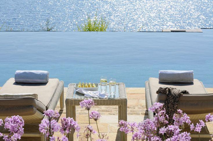 Luxury villa rent Corfu | SJ Villas | The Kassiopia Estate, Atolikos House, sleeps 6, private pool, Villa to rent in Kassiopi