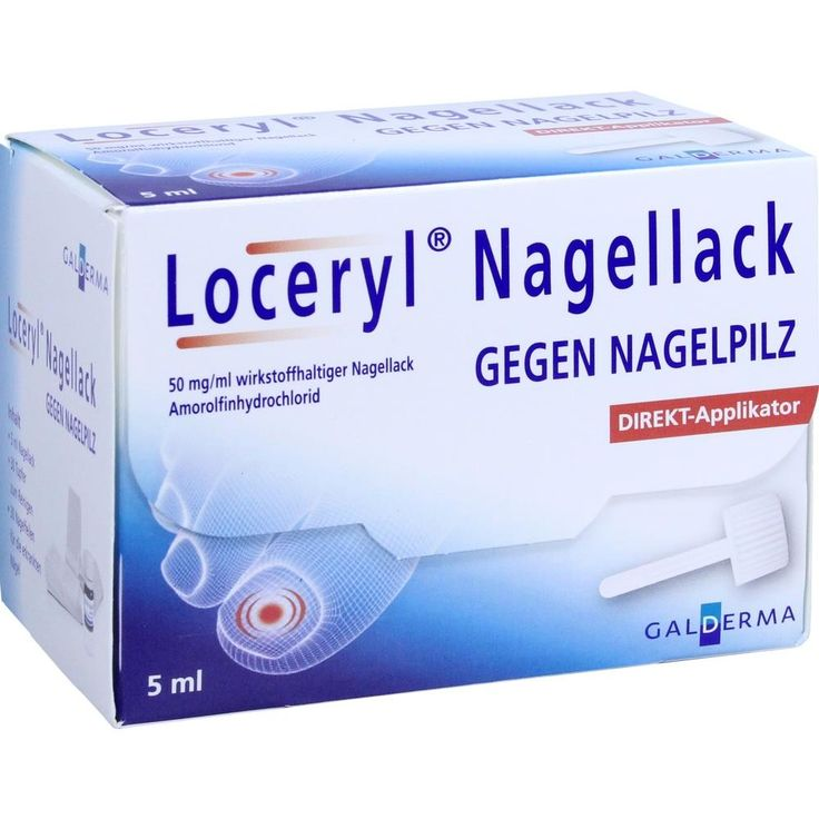LOCERYL Nagellack gegen Nagelpilz DIREKT-Applikat:   Packungsinhalt: 5 ml Wirkstoffhaltiger Nagellack PZN: 11286181 Hersteller: Galderma…