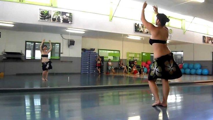Stage Débutantes 2013 - Danse tahitienne avec Mareva