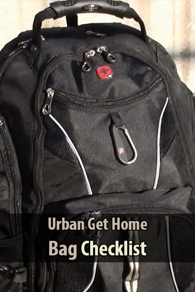 "Recently across a great video by TheUrbanPrepper. It's about what you should put in your urban ""get home bag"" and how to organize it."