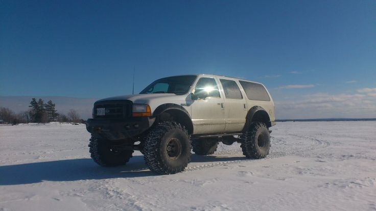 One cool Ford Excursion