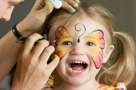 Face Painting is as Old as Time Itself | Go Green Face Paint