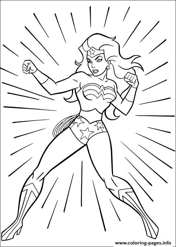 print wonder woman 18 coloring pages