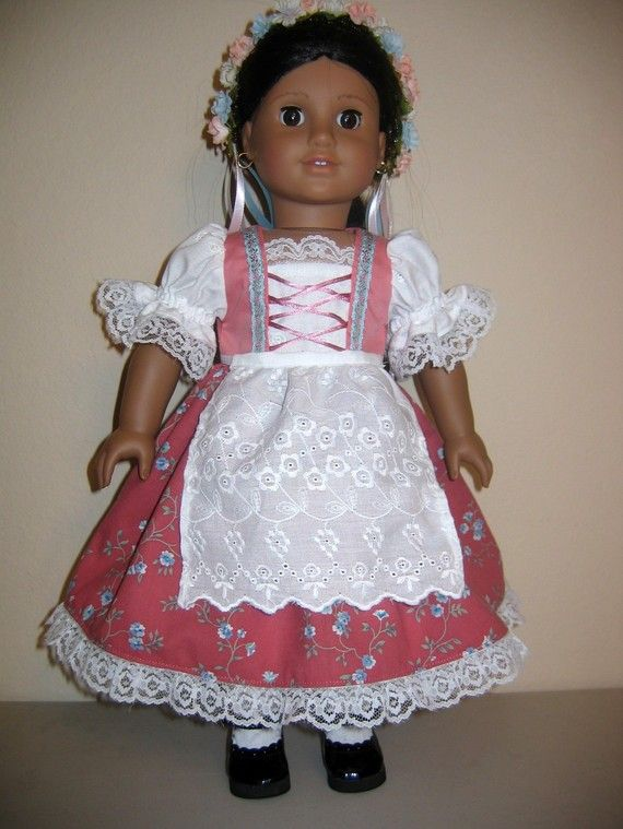 1000 Images About 18 Inch Doll Ethnic Clothing On Pinterest Dirndl American Girl Dolls And