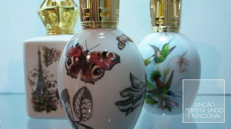 Essas lamparinas têm um sistema exclusivo que purifica o ar, perfuma e enfeita o ambiente.