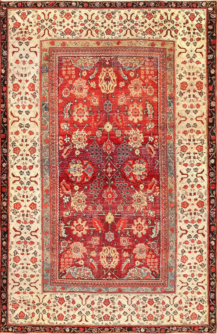 Polonaise antique oriental rugs - Antique Indian Agra Rug 49185