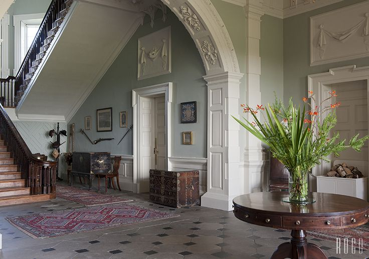 Entrance Hall Florence Court Enniskillen Co Fermanagh