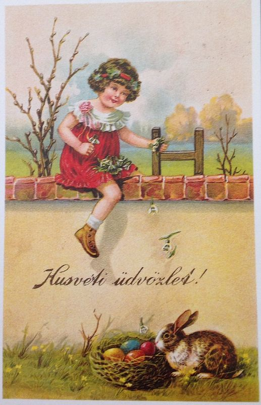 67 best hungarian vintage easter cards images on pinterest easter hungarian vintage easter cards eastercard044 m4hsunfo