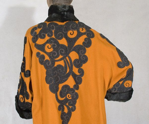 Edwardian clothing at Vintage Textile: #4000 Orientalism coat